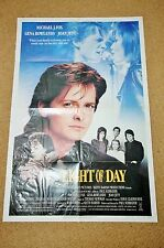 LIGHT OF DAY Original Movie Poster MICHAEL J. FOX GENA ROWLANDS JOAN JETT