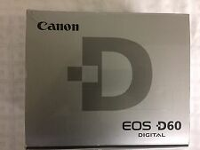 NOS Canon EOS D60 6.3MP Digital SLR Camera Kit with Power Accessories - NO LENS