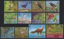 Salomoninseln 2001 - Mi-Nr. 1033-1044 ** - MNH - Vögel / Birds