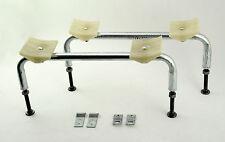 Steel Bath riser Leg / Feet & Wall Clips