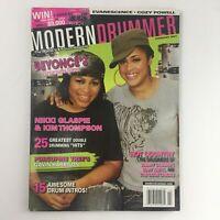 Modern Drummer Magazine February 2007 Nikki Glaspie & Kim Thompson & Cozy Powell