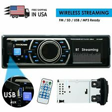 SoundXtreme Car Stereo, Bluetooth, No Cd/Dvd Player, Usb, Sd, Aux, Am/Fm Radio
