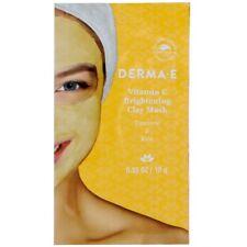 Derma E  Vitamin C Brightening Clay Mask Turmeric & Kale 0.35 oz each -3 packs