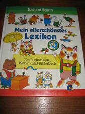 (E891) SCHÖNES ALTES KINDERBUCH MEIN ALLERSCHÖNSTES LEXIKON RICHARD SCARRY 1994