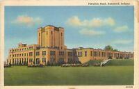 Hammond Indiana~Filtration Plant~1940s Linen Postcard