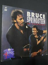 Bruce Springsteen in Concert  - MTV UNPLUGGED  - Laserdisc