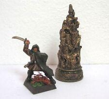 Gelände Scenery - Statue Säule Modell Stadt Minas Tirith Festung Burg Barad-Dur