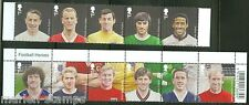 Great Britain 2013 Football Legends Set Of Eleven Mint Nh