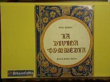 ART 6.080 LIBRO LA DIVINA COMMEDIA DI DANTE ALIGHIERI INFERNO CANTO 4 1963