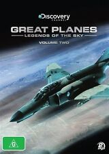 Great Planes - Legends Of The Sky : Vol 2 (DVD, 2011, 2-Disc Set)