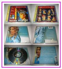 Madonna 1998 Ray Of Light Taiwan OBI CD with The Best Female Singer Promo Insert