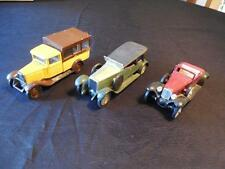 Lot Vintage Solido Diecast France Cars Hispano Suiza 1926 Citroen 1930 1929 Cord