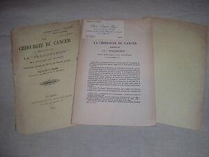 La chirurgie du cancer appuyée sur la fulguration par Juge 1908