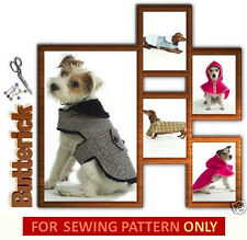 SEWING PATTERN! MAKE DOG COATS! EXTRA-SMALL TO LARGE SIZE DOGS + DASCHUND COAT!