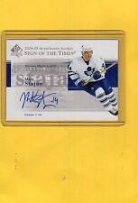 2004-05 SP AUTHENTIC SIGN OF THE TIMES AUTO MATT STAJAN