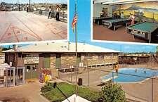 Aurora Colorado Shady Meadows Travel Trailer Park Vintage Postcard K42827