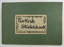 Helmuth Weissenborn Turc Carnet de croquis 1972
