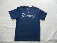 Authentic Majestic Evolution Tee New York Yankees Baseball Shirt Youth XL NEW