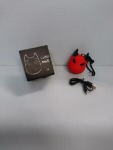 Little Devil Red Wireless Speaker (Rechargeable)
