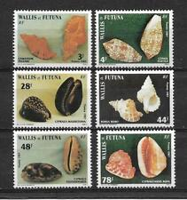 """New Calédonia """" WALLIS and FUTUNA """" 1987. Complete set 6 new stamps** (5229)"""