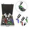 3 HVLP Air Spray Gun Kit Auto Paint Car Primer Detail Basecoat Clearcoat w/ Case
