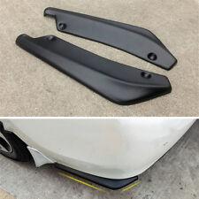 2 Pcs Universal Car Bumper Spoiler Rear Lip Angle Splitter Diffuser Anti-crash