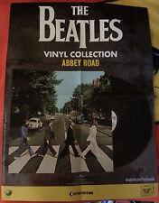 Promo poster BEATLES Vinyl Abbey Road EDICOLA cd dvd Lennon McCartney Harrison