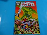 marvel fanfare #3  marvel  comics Comic book
