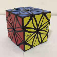 Newest LanLan Mohua Flower Copter Magic Cube Black Puzzle Toy Gift