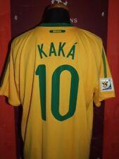 KAKA BRAZIL WC 2010 MAGLIA SHIRT CALCIO FOOTBALL MAILLOT JERSEY CAMISETA