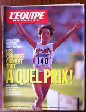 L'Equipe Magazine du 22/1/1994; Les Chinoises gagnent tout, enquête ds le Yunnan