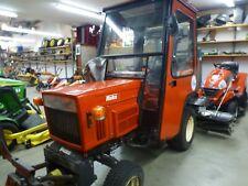 Hakotrac 1401D Kommunaltraktor, Kleinschlepper 2Zyl Diesel mit Frontkehrmaschine
