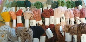 Large quantity Appleton tapestry yarns, mostly new and unused. Lots of colours!