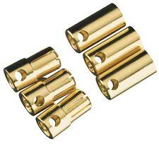 Castle Creations High Current Bullet Connectors 6.5mm CCBUL6.5X3 CSEM0003