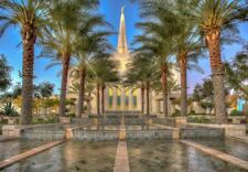 Gilbert Arizona Temple Jigsaw Puzzle - 1000 piece - Latter Day Saints LDS