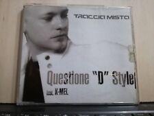 "TRACCIA MISTA - QUESTIONE ""D"" STYLE feat. K-MEL- CDS PROMOZIONALE 1999"