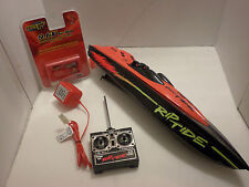 Tyco R/C 9.6Volt Rip Tide 49mhz  w/new battery/charger  free shipping