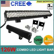 "Cree LED Work Light Bars Off Road Worklight LED Spot Boat Golf Cart 20"" 126W"