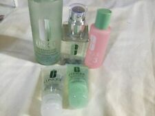 NEW IN BOX CLINIQUE 2-STEP SKIN CARE SYSTEM FULL SIZE & TRAVEL SET #3 $98 VALUE