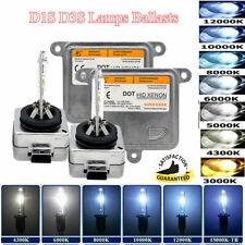 Car 35W/55W Xenon HID Conversion Kit Headlight D1S D3S 4300K 6000K 8000K 10000K