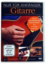 LERNSCHULE - DVD - GITARRENSCHULE FÜR ANFÄNGER - UNIVERSAL AKUSTIK, ELEKTRO, BO1