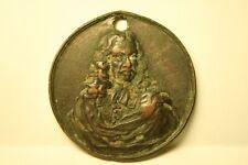 "Medaille J. HEVELIUS/ HEVEL/Hewelcke 1611 Danzig Astronom Kupfer ""1687"" SELTEN!!"
