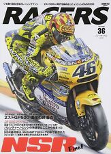 RACERS Vol.36 NSR Final Japanese book Valentino Rossi