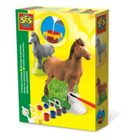 SES CREATIVE Children's Horse Casting & Painting Set, Unisex, 5 to 12 Years