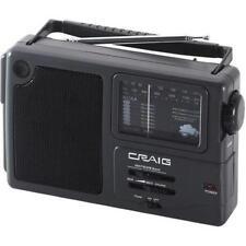 Craig Electronics CR4181W Craig Cr4181w Am Fm Radio Portable With Weather Band