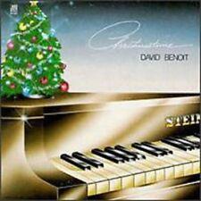 DAVID BENOIT Christmastime CD 1983 AVI RECORD PRO. CD NEW STILL SEALED RARE GIFT