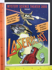 Mystery Science Theater 3000 MST3K Laserblast Mini Poster