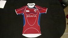 Canterbury of New Zealand Mens S/S Red Usa Rugby Jersey Sm
