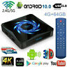 X96Q MAX Box Android 10.0 TV HDMI Box Quad Core WiFi 4K Home Top TV Media Player