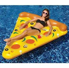 Summer Soft Giant Inflatable Pizza Swimming Pool Float Raft Water Sports Toy AU